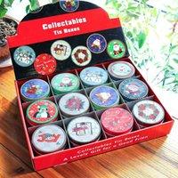 weihnachtsgeschenk geschenkboxen großhandel-Weihnachtsgeschenke Dragee Pralinenschachtel Noel Geschenke Weihnachtsdekorationen für Haus Weihnachten Navidad 2019 Neujahr 2020 Geschenk-Natal Deco