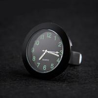 Wholesale mini car gauges for sale - Group buy Luminous Gauge Clock Mini Car Quartz Clocks And Watches With Clip Auto Air Outlet Indoor Decoration dxa F1