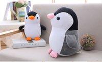 niedlicher pinguin plüsch großhandel-25 CM Nette Pinguin Plüschtiere Meerestier Puppe Kleine Plüsch Puppe Kindergeschenke Dekoration Geschenke Pinguin Stofftiere L160