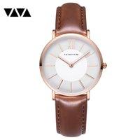 horloge oem achat en gros de-Recommander montre concise montre-bracelet horloges et montres montres-bracelets à quartz pour femme montre-bracelet à quartz