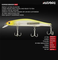 Wholesale suspend lures for sale - Group buy New D Lifelike Fish Suspend Minnow crankbaits g cm D Eyes Lively Swimming Hard Laser baits hooks lure