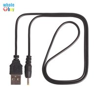 Wholesale computer cables free shipping for sale - Group buy cm cm High Speed USB to DC3 mm mm mm Copper Core Power Cord Cable black
