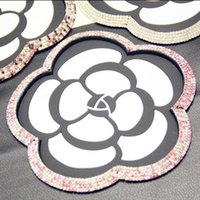 Wholesale sticky gps car dashboard resale online - Car Camellia Anti Slip Mat Magic Sticky Pad Mobile Phone Holder For GPS MP3 MP4 Holder Car Dashboard Sticky Pad Anti Slip