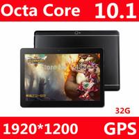 4gb ram 32gb rom 4g großhandel-BOBARRY B109 10 Zoll Tablet PC 3G 4G Lte Octa Core 4 GB RAM 32 GB ROM Dual SIM 5.0MP Android 7.0 GPS 1920 * 1200 IPS Tablet PC 10