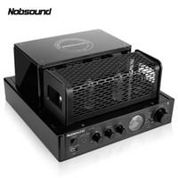 integrierter verstärker großhandel-Nobsound MS-30Dll 2.0 Bluetooth Ausgangsleistung 25 W Elektronenröhrenverstärker HIFI-Vakuumröhre Integrierter Galle-Maschinenverstärker USB