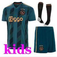 04d9599bca2 Wholesale ajax jersey for sale - kids Ajax FC Soccer Jerseys away Shirt  KLAASSEN NOURI football