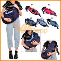 um ombro portador de bebê venda por atacado-New Born Frente Baby Sling Transportadora Enrole um ombro Comfort Baby Slings Crianças Criança Enrole Bolsa Recém Operadoras para bebês recém-nascidos