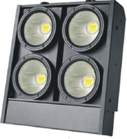 iluminación cegadora al por mayor-4x100W DMX 512 2/4 / 7CH 2IN1 Cálido, blanco frío LED COB 4 ojos Blinder Light Audience Studio Lighting