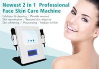 Wholesale oxygen face machine resale online - 2 in CO2 Nano bubbles Technology Oxygen Facial Machine Face Lifrting Skin Rejuvenation Skin Tightening SPA Salon Use