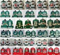 Wholesale zuccarello jerseys for sale - Group buy 2019 Minnesota Wild Mikko Koivu Zach Parise Jason Zucker Ryan Suter Mats Zuccarello Devan Dubnyk Jerseys