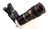 Wholesale optical zoom cell phone camera for sale - Group buy Telescope Lens x Zoom unniversal Optical Camera Telephoto len with clip for Iphone Samsung HTC Sony LG mobile smart cell phone a796