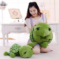 Wholesale big eye turtle plush toy for sale - Group buy Super cute green big eyes turtle plush toy turtle pillow baby toy gift children s day gift