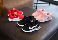 ingrosso scarpe da corsa a basso prezzo-Autunno 2019 Baby First Walkers scarpe sportive per bambini scarpe a rete scarpe da ginnastica per bambina, taglia 21-30