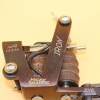 swashdrive döner makine toptan satış-Profesyonel Krom Çelik Rotary Dövme Makinesi Gunr Kiti Güç Seti Alüminyum Motor Shader / Astar