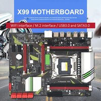 Wholesale colorful motherboard for sale - Group buy X99 D3 Computer Motherboard Channel Memory Slot CPU Gigabit Network Card Motherboard Built in Backlight LED Colorful Lights