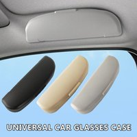 Wholesale sunglasses hidden resale online - Universal Car Glasses Case Handle Modified Multifunctional Interior Space Saving Organizer Hidden Sunglasses Holder Storage Box