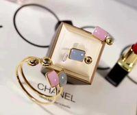anéis de pedras preciosas de 14k venda por atacado-Designer de pulseira conjunto de anéis de designer de jóias de luxo mulheres pulseira de pedras preciosas 14k 18k designer de jóias de luxo mulheres
