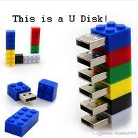 ingrosso blocco design-Design Real Capacity Cute Block USB Flash Drive (32 GB)