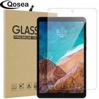ingrosso resistente alla compressa-Qosea per Xiaomi Mi Pad 4 Plus Pellicola in vetro temperato 9h Ultra Clear Scratch Resistant per Xiaomi Mipad 4 Tablet Screen Protector J190505