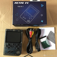 construir consola de jogos venda por atacado-Retro Portátil Mini Game Console Handheld 8-Bit de 3,0 Polegada LCD Color Kids Color Game Player Embutido 168 jogos
