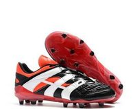 Wholesale rubber football cleats online - Predator Accelerator Electricity David Beckham soccer cleats mens Soccer Shoes football boots