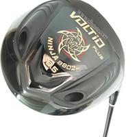 ouro katana venda por atacado-Novos clubes de golfe Katana Voltio PLUS motorista 9.5 ou 10.5loft preto ou dourado Motorista de golfe Motorista de eixo de grafite headcover Frete grátis
