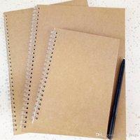 записная книжка оптовых-Classic Spiral Notebook Наполнитель для бумаги Refill Вставка Размер 190 * 134 мм Diy Journal Внутреннее ядро Планировщик Дневник Аксессуары для ноутбуков