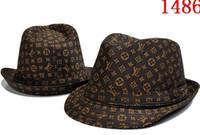 ingrosso uomini di berretto da baseball di cashmere-Fashion Designer in pelle lettera secchio cappello per uomo donna pieghevole protezioni nero pescatore spiaggia visiera parasole vendita pieghevole berretto da baseball uomo