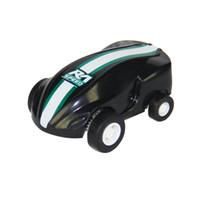 geschwindigkeit drehen großhandel-USB Lade 360 Rotierenden Laufen Kinder Transparent Ball Led-leuchten Micro Racing Geschenk Blinkende Lustige Stunt Auto Spielzeug High Speed