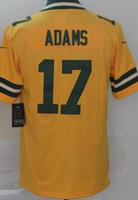 17 trikots groihandel-Mens Green Bay 12 17 Jersey Shirts Inverted Legende Version Jersey American Football Jersey