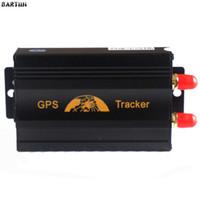 gps zaun großhandel-Ortungsgerät Original Coban TK103 TK103A GPS103A Auto Fahrzeug GSM GPS GPRS G-Zaun Alarm RealTime Tracker SMS Ortung ...