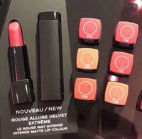 Wholesale HOT Makeup ROUGE ALLURE VELVET EXTREME Matte Intense Lipstick Colors Lip Gloss Liploss Fast Shipping