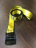 cinturones de lona de alta calidad al por mayor-cinturones de diseño de alta calidad para hombre de la correa de lona de color amarillo blanco cinturones homme damas negro marca pretina 130 a 200 cm