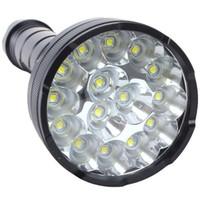 batterie pour ultrafire xml t6 achat en gros de-18000 lumens 15 x CREE XM-L2 LED 5 modes de lumière torche super lumineuse imperméable avec éclairage de 1200m