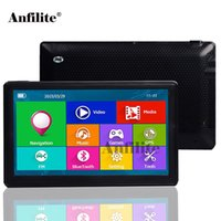 Wholesale car gps for sale - Anfilite quot capacitive Car D M GB GPS Navigation Bluetooth AVIN MHZ CE6 truck navigator with rear view wireless camera