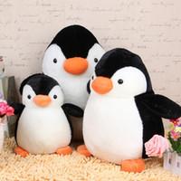 niedlicher pinguin plüsch großhandel-Heißes Verkaufs-neues nettes Pinguin-Plüschtier angefüllt für Kinderbeste Feriengeschenke 20CM 10pcs / Lot EEA29