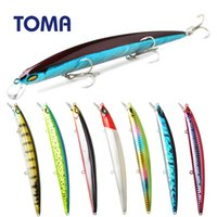 Wholesale suspend lures resale online - TOMA Suspend Minnow Fishing Lure Wobbler mm g Floating Hard Lure Artificial Crankbait Sea Bass Bait Fishing Tackle
