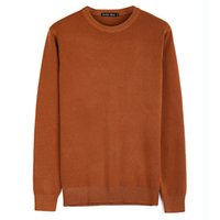 общий пуловер оптовых-7 цвет вязаный хлопок свитер мужчины весна осень мода кашемировые комбинезоны пуловеры свитер мужские свободного покроя о-воротник свитера