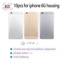Wholesale iphone housing free shipping for sale – best 10PCS High quality for iPhone G housing housing battery cover back frame chassis cover