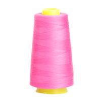 carretes de algodón al por mayor-Costura a mano Costura Serger 40/2 Acolchado Hilo de algodón para trabajo pesado Tejido de bobinas
