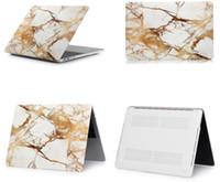 sert mermer mermer toptan satış-Boyama Hard Case Kapak Yıldızlı Gökyüzü / Mermer / Kamuflaj Desen Laptop Kapak için MacBook Hava 13 '' 13 inç A1369 A1466 Laptop Case
