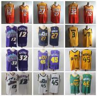 2019 City Earned Edition Donovan 45 Mitchell Jersey Men Utah Basketball  Rudy 27 Gobert Ricky 3 Rubio 12 John Stockton 32 Karl Malone dd9252924