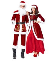 NEW WOMENS ADULT CHRISTMAS COSTUME LADIES SUITS SANTA CLAUS HELPER XMAS OUTFITS