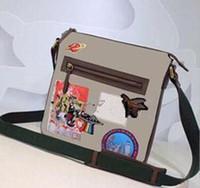 maletín de documentos al por mayor-Nuevos bolsos de cuero genuino Crossbody Messenger Bag Bolsos de oficina de cuero para hombres Maletín de documentos Bolsas de viaje 4577