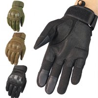 Wholesale new tactical gloves resale online - New Outdoor Tactical Gloves Motorcycle Fighting Fitness Sports Windproof Ski Gloves Support FBA Drop Shipping M335Z