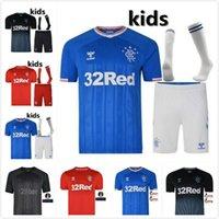 camisas de lote venda por atacado-2019 2020 Glasgow Rangers Futebol Jersey 19 20 TAVERNIER MURPHY Defoe Rangers camisa de futebol Tamanho pode ser lote misto