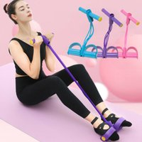 ingrosso attrezzature per palestre-Elastic Fitness Sit Up fune ginnico addominale Home Gym Sport Equipment