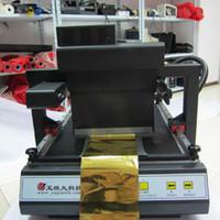 máquinas de lámina caliente al por mayor-Mini cnc máquina de impresión de estampado en caliente con la mejor calidad