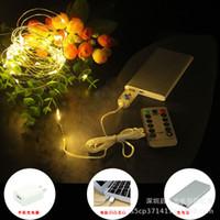 ingrosso luci fatate-100 LED 10M Christmas Tree Fairy String Party Lights Lampada Xmax a colori impermeabile