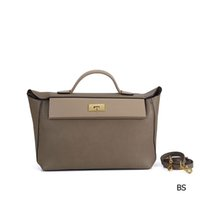 Wholesale orange pattern handbag resale online - designer bags Hams handbag cm cm litchi pattern pu leather high quality purse bag fashion totes handbag
